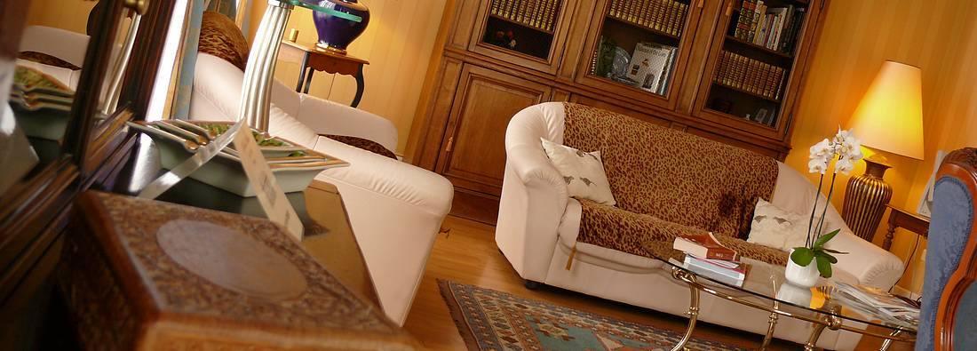 living room - chateau hotel