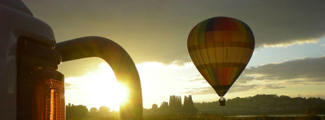 Hot air balloon ride over the Loire Valley Castles