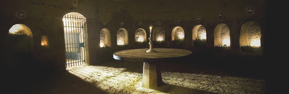 private visit in a wine cellar