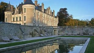 private chateau hotel in the Loire Valley