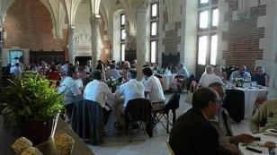 gourmet dinner at chateau of Amboise