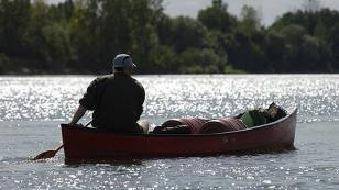 canoe ride on the loire river